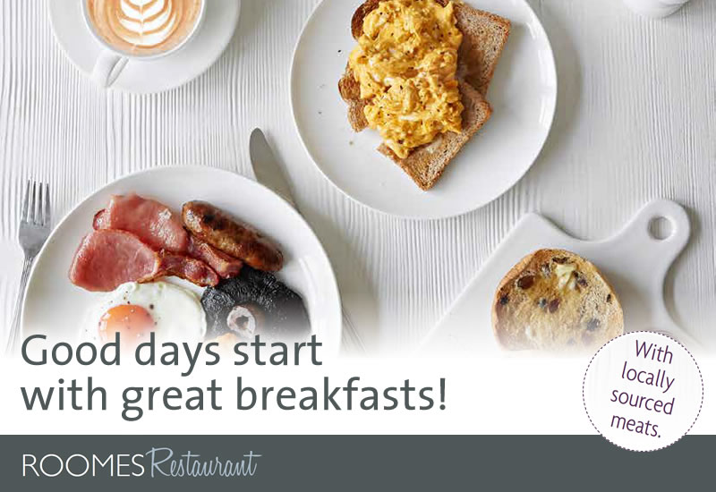 Good days start with great breakfasts!