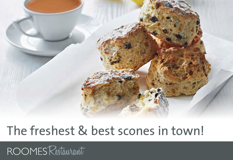 The freshest and best scones in town!