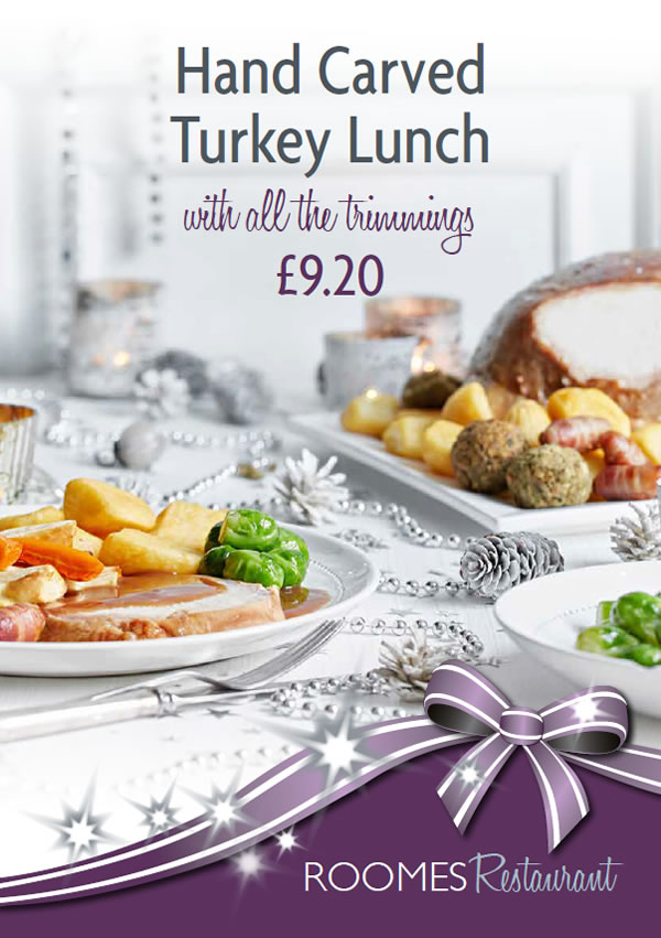 Hand Carved Turkey Lunch