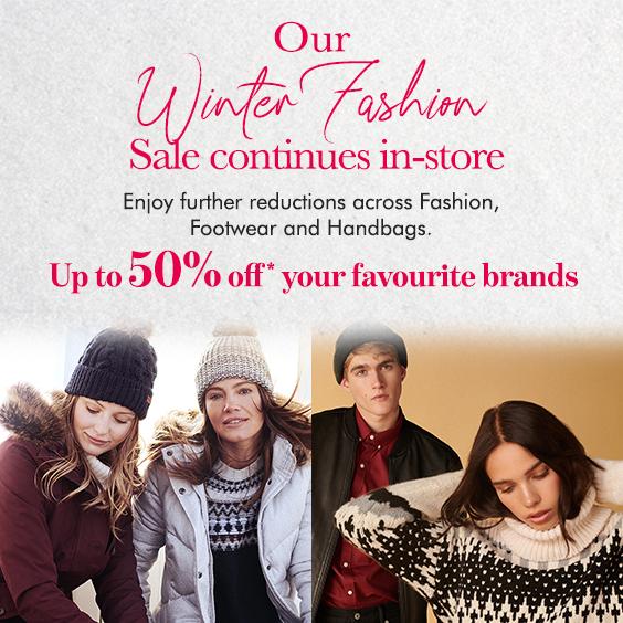 Winter Fashion Sale Continues